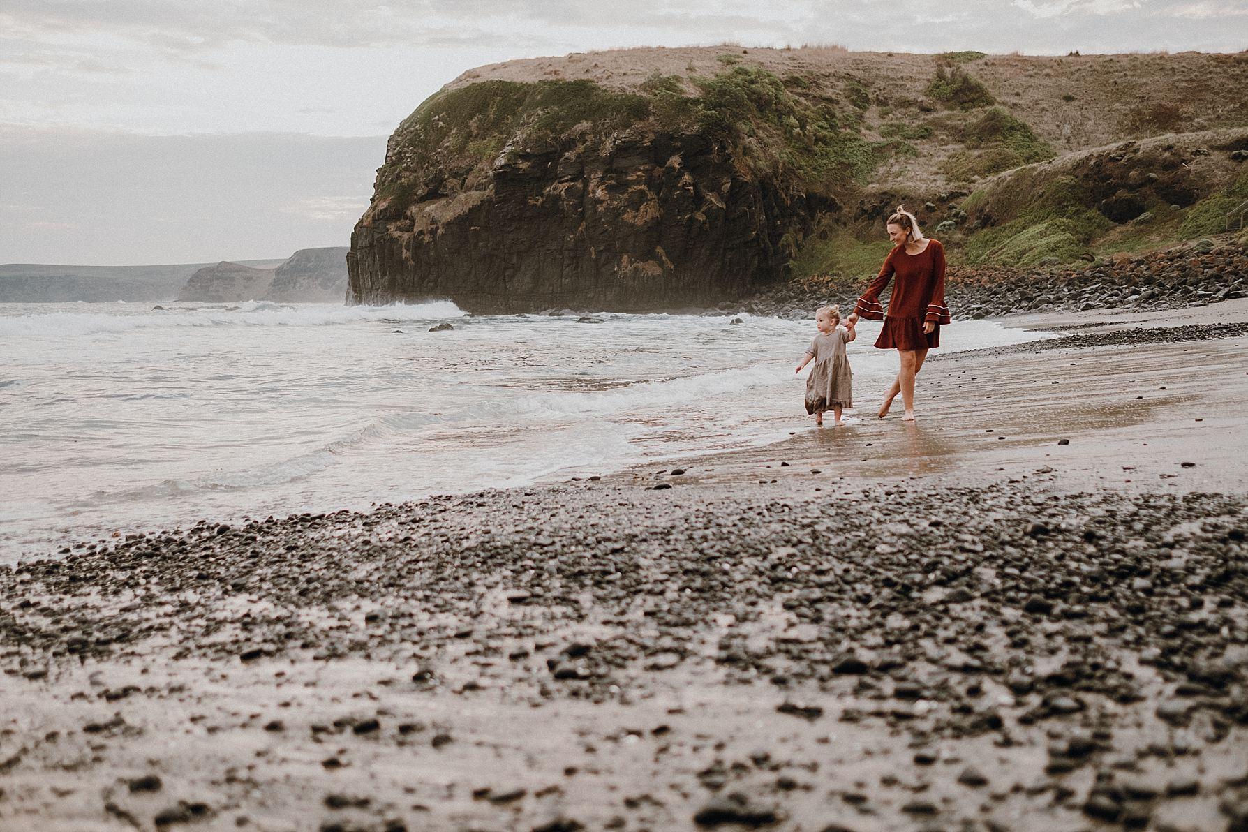 walking-along-beach