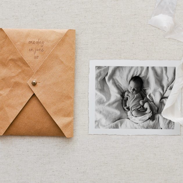 Print envelope family photography Melbourne